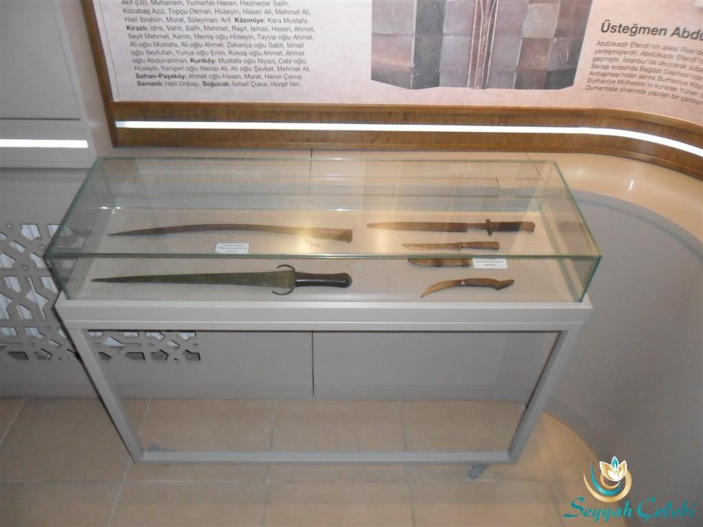 Yalova Kent Müzesi Kesici Aletler