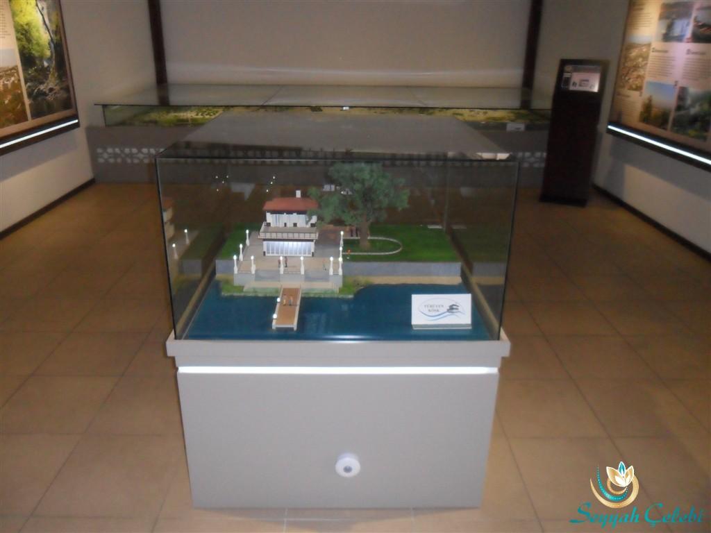 Yalova Kent Müzesi Yürüyen Köşk Maketi