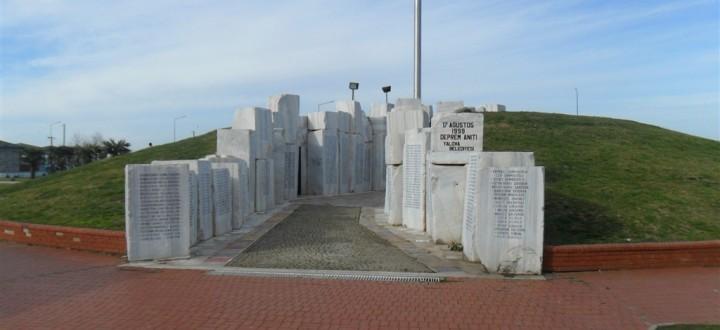 Yalova Deprem Anıtı