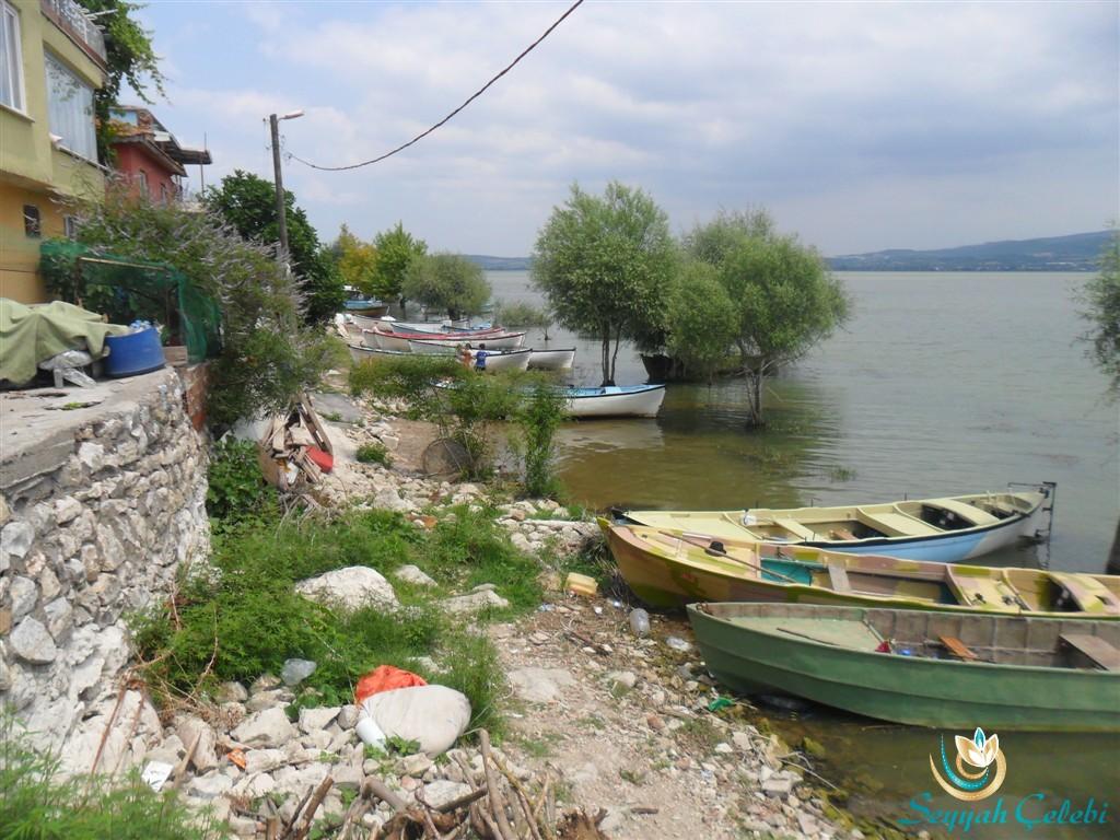 Gölyazı Göl ve Evler