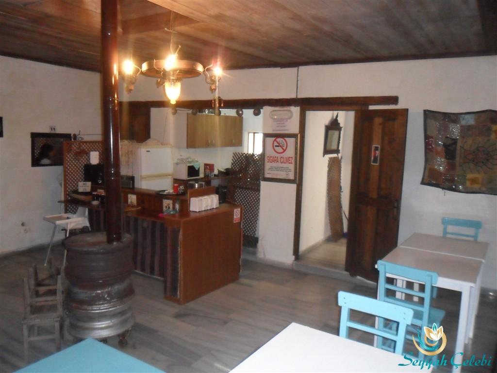 Gölyazı Tarihi Hamam Kafeterya Avlusu