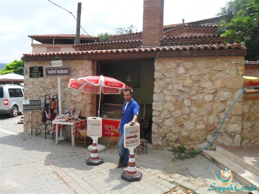 Gölyazı Tarihi Hamam Kafeterya