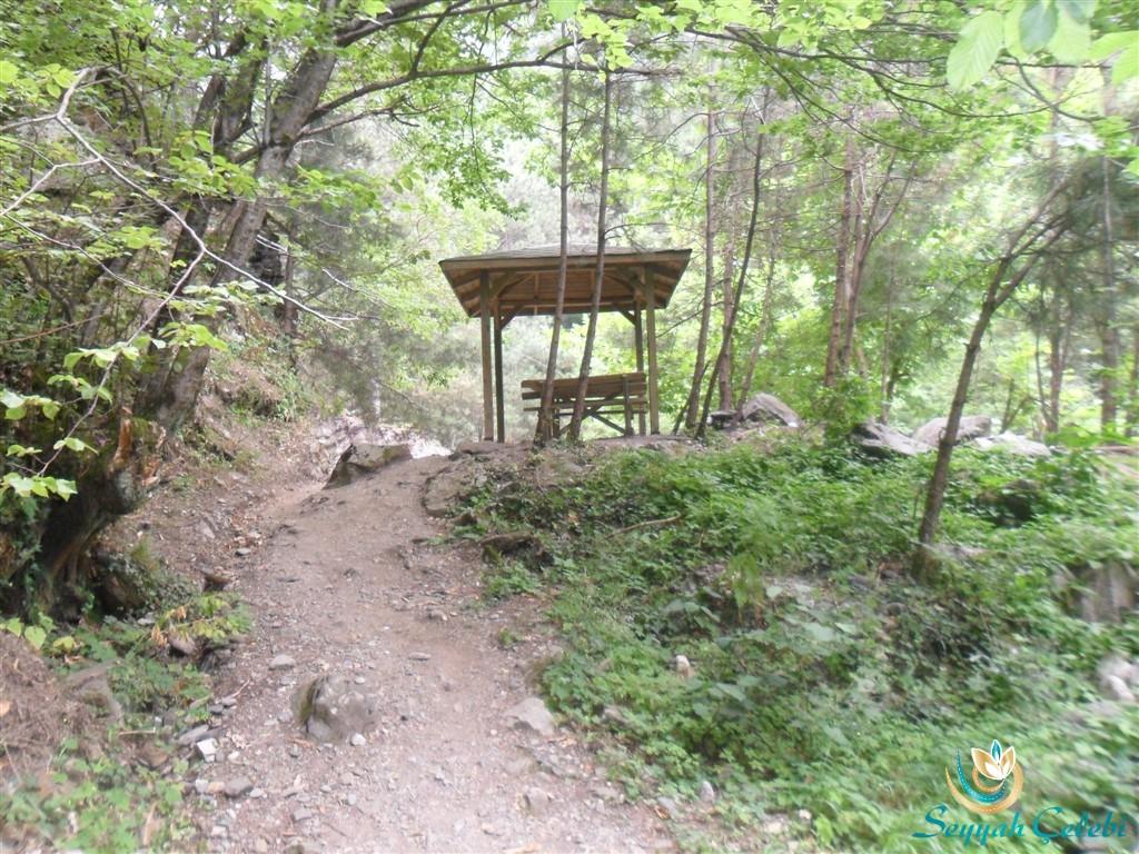 Kürekli Şelalesi Gizli Piknik Locası