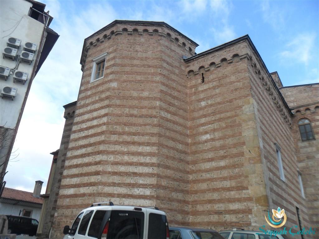 I. Murad Cami Köşe Süslemeleri