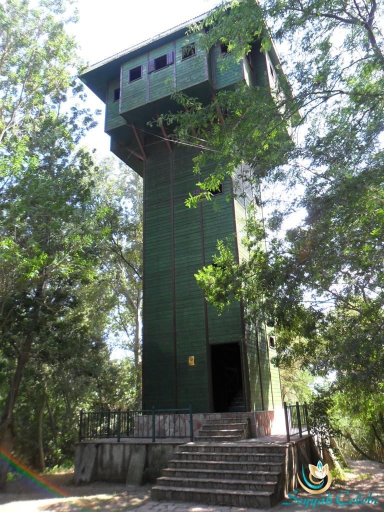 Kuşcenneti Milli Parkı Gözetleme Kulesi